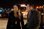 Fringe Promotional Photo: Anna Torv as Olivia Dunham and Kirk Acevedo as Charlie Francis