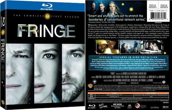 Fringe Season 1 Blu-ray & DVD covers