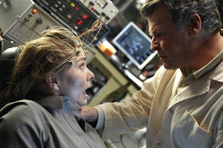 FRINGE: Walter (John Noble, R) experiments with a witness's memory in the FRINGE episode 'Momentum Deferred' airing Thursday, Oct. 8 (9:00-10:00 PM ET/PT) on FOX. ©2009 Fox Broadcasting Co. CR: Liane Hentscher/FOX