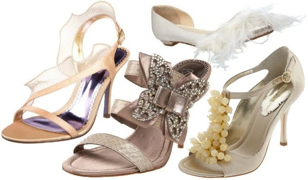Champagne Bridal Shoes Uk