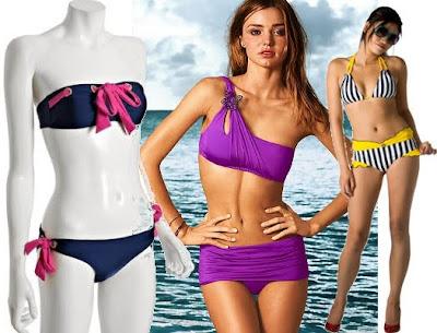 bikini one shoulder