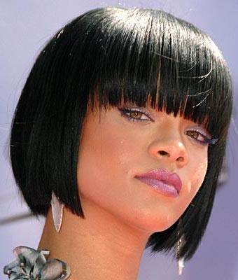 rihanna short hair back. rihanna short hair.