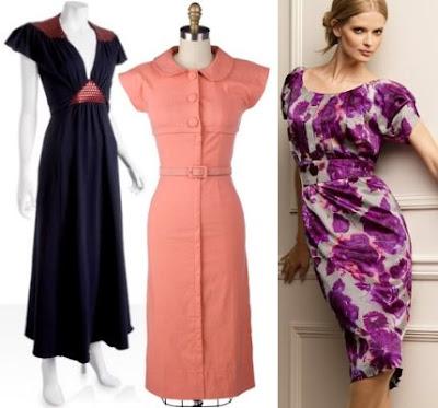 Emprime Desenli Günlük Elbiseler
