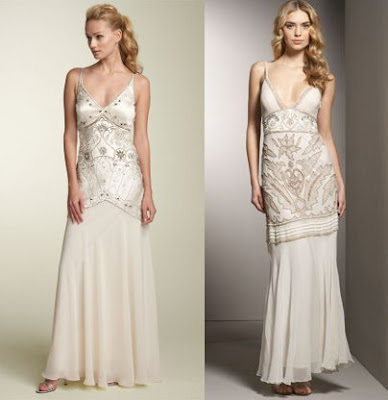 Bohemian wedding gowns for
