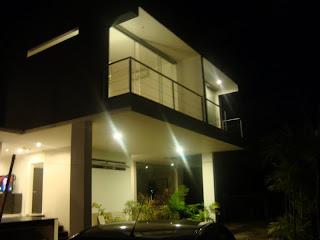 Hus i Costa Rica