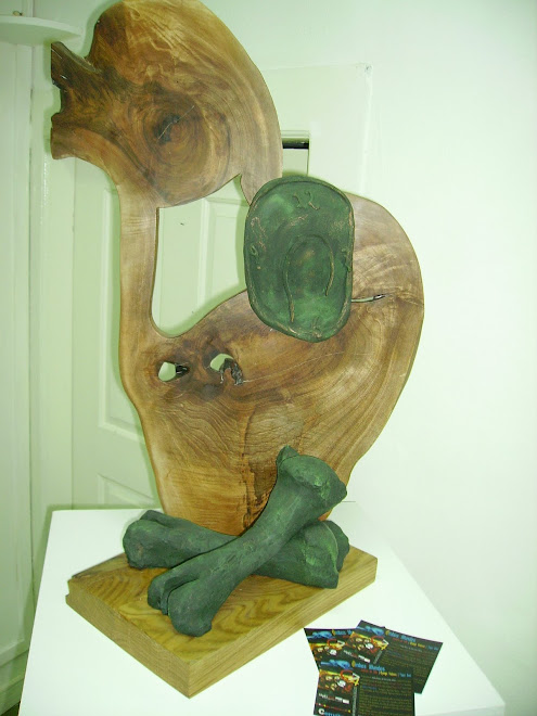 A sculpture by Dyango Velasco