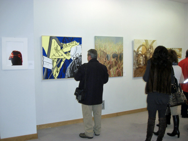 The works of Roberto Samar, Maria José and Célia Alves