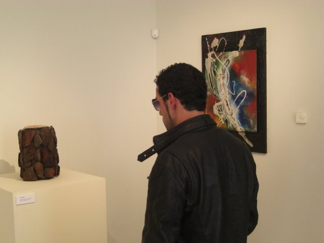 The work of Sílivia Alba and the sculpture 'Pine After' of Francisco Urbano