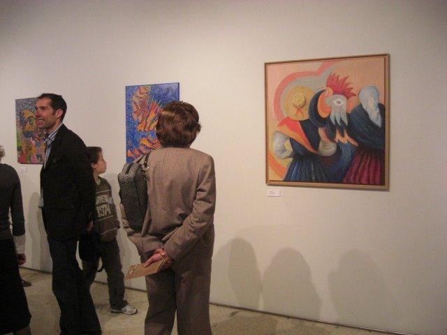 The work 'Simbolismo' of Célia Alves