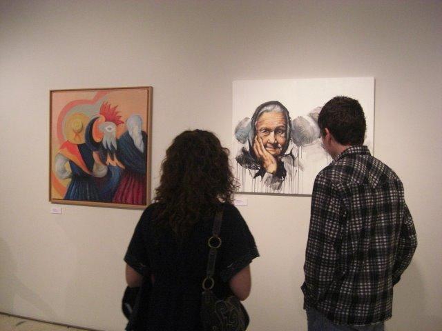 The works of Célia Alves and Ricardo Passos