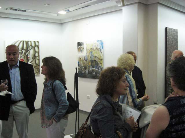 The works of Susy Manzo, Allera Cosimo and Cláudia Silva