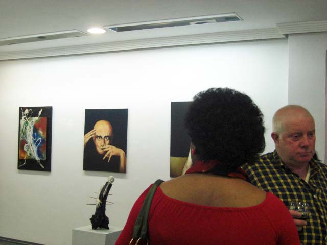 The works of Sílvia Alba, Nicolau and Pedro
