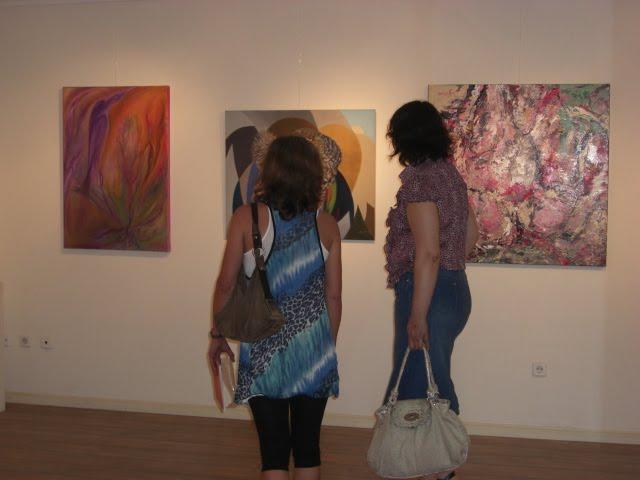 The works of Cristina Mendonça, Maria Melo and Pedro Charters D'Azevedo