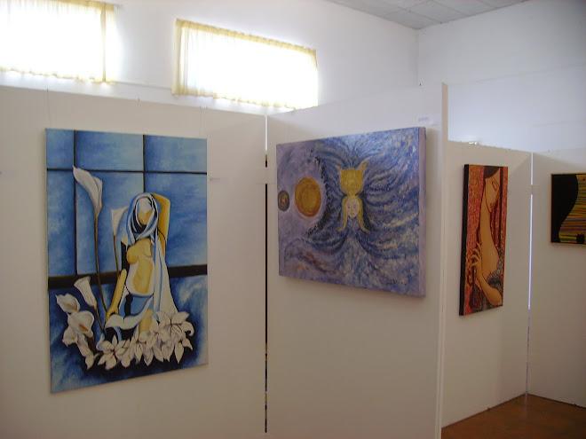 The work of The Italian artist Mirella Orlandini