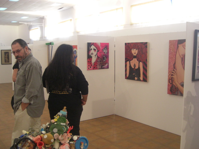 Ilaria Pergolesi was present with 'Donna Lover'