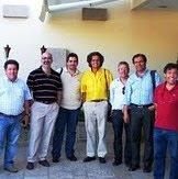 Santana Castilho com os líderes dos 'movimentos'