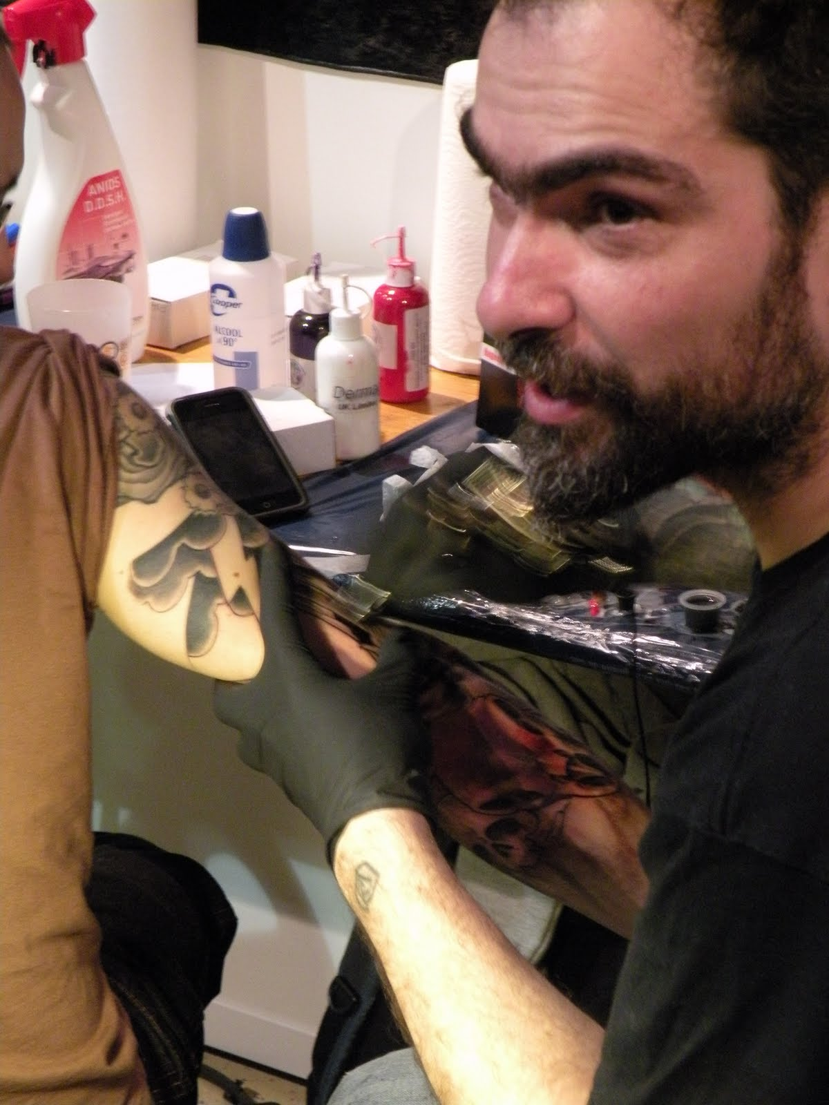 Exposants - Convention Tatouage Bordeaux