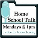 homeschool talk show button