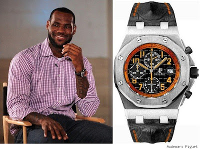 Audemars piguet celebrity watches