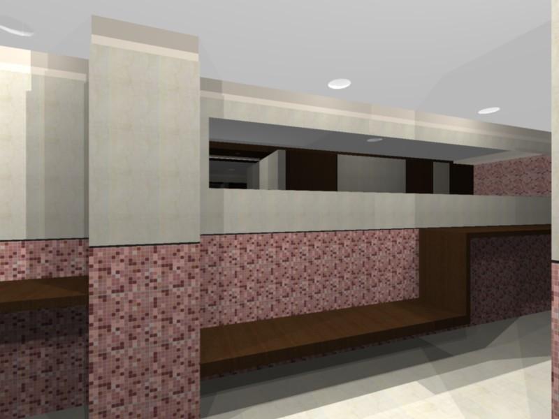 Dise o de interiores proyecto ba o publico damas - Proyecto diseno de interiores ...