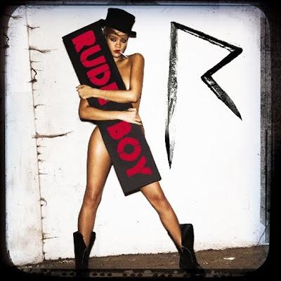 Rihanna (encore) nue pour la couv' de Rude Boy