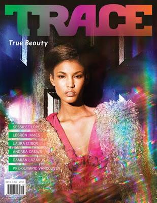Sessilee Lopez en couv' de Trace Magazine