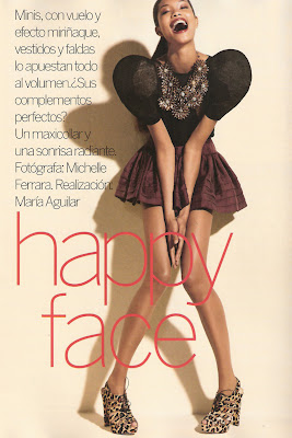 Happy Face for Vogue Spain