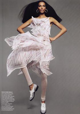 mert-marcus4 Liya Kebede pour Vogue US Avril 2010