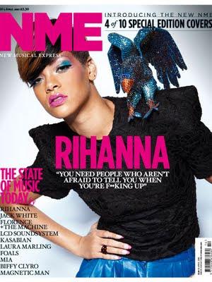 >Rihanna en couv' du mag NME