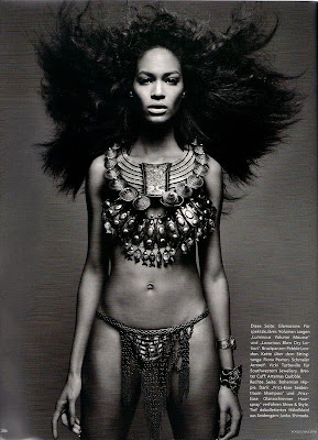 >Hot Shoot | Joan Smalls pour Vogue Germany