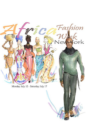 ">""Africa Fashion Week New York"" 