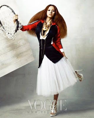 >Lee Hyori for Original Jeremy Scott | Vogue Korea