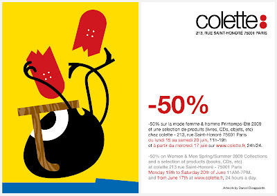 Flash news -50% chez colette