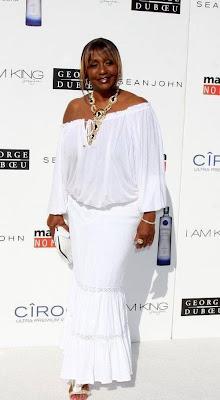 mama+combs Diddy & Ashton Kutcher's All White Affair