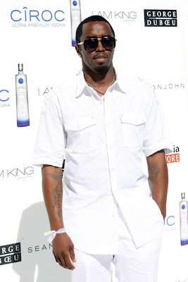 Diddy & Ashton Kutcher's All White Affair