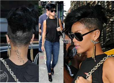 Shaved Head Movement: Rihanna