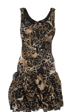 6732Ruffle+Dress Soldes d'été: MyAsho
