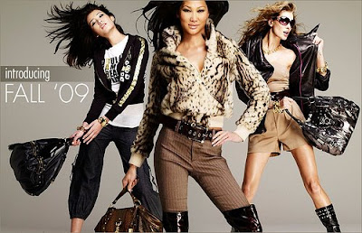 Campagne Pub Baby Phat –  Automne 2009