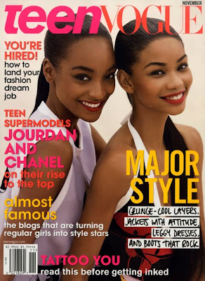 Chanel Iman & Jourdan Dunn pour Teen Vogue