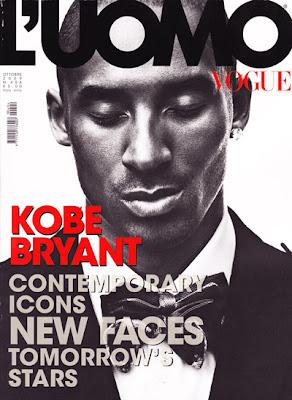 Kobe Bryant est L'UOMO Vogue