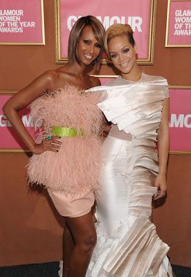 "Rihanna à l'honneur aux "" 2009 Glamour Magazine Women Of The Year Awards"""