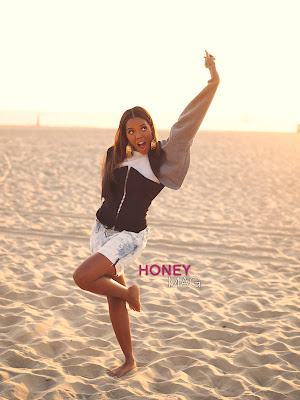 Angela & Vanessa Simmons pour Honey Magazine