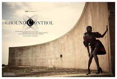 "Ajuma Nasenyana ""Ground Control"" pour Arise Magazine"