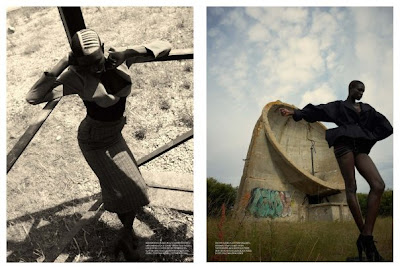 "Ajuma Nasenyana ""Ground Control"" pour Arise Magazine"