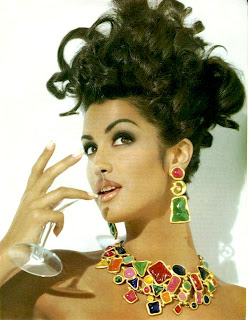 yasannejewel6th Beauty Flashback | Yasmeen Ghauri