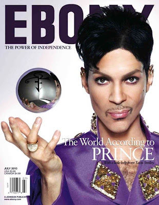 >Purple Rain | Prince en couv' d'Ebony Mag