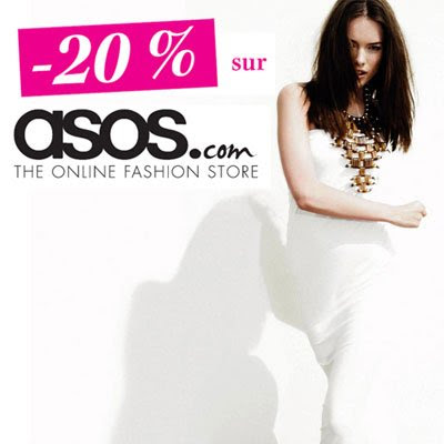 >Envy de shopping? -20% sur ASOS.com