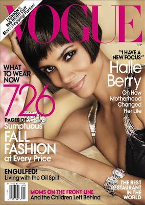 >Halle Berry en couv' de Vogue US