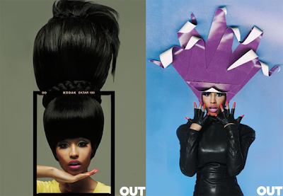 >Nicki Minaj en couv' de OUT Magazine