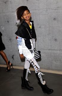 ws2 Willow Smith, star de la Fashion Week de Milan